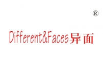 异面;DIFFERENTFACES